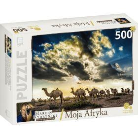 Puzzle podróżnicze 500 i 60 elementów @Świat Książki