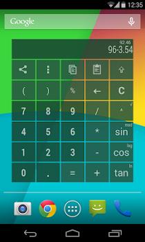 Fajny kalkulator z widgetem teraz za darmo w Google play