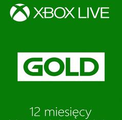 Xbox  Live Gold 12 Mies (możliwe 123 zł i mniej + 1 mies gratis) - ALLEGRO
