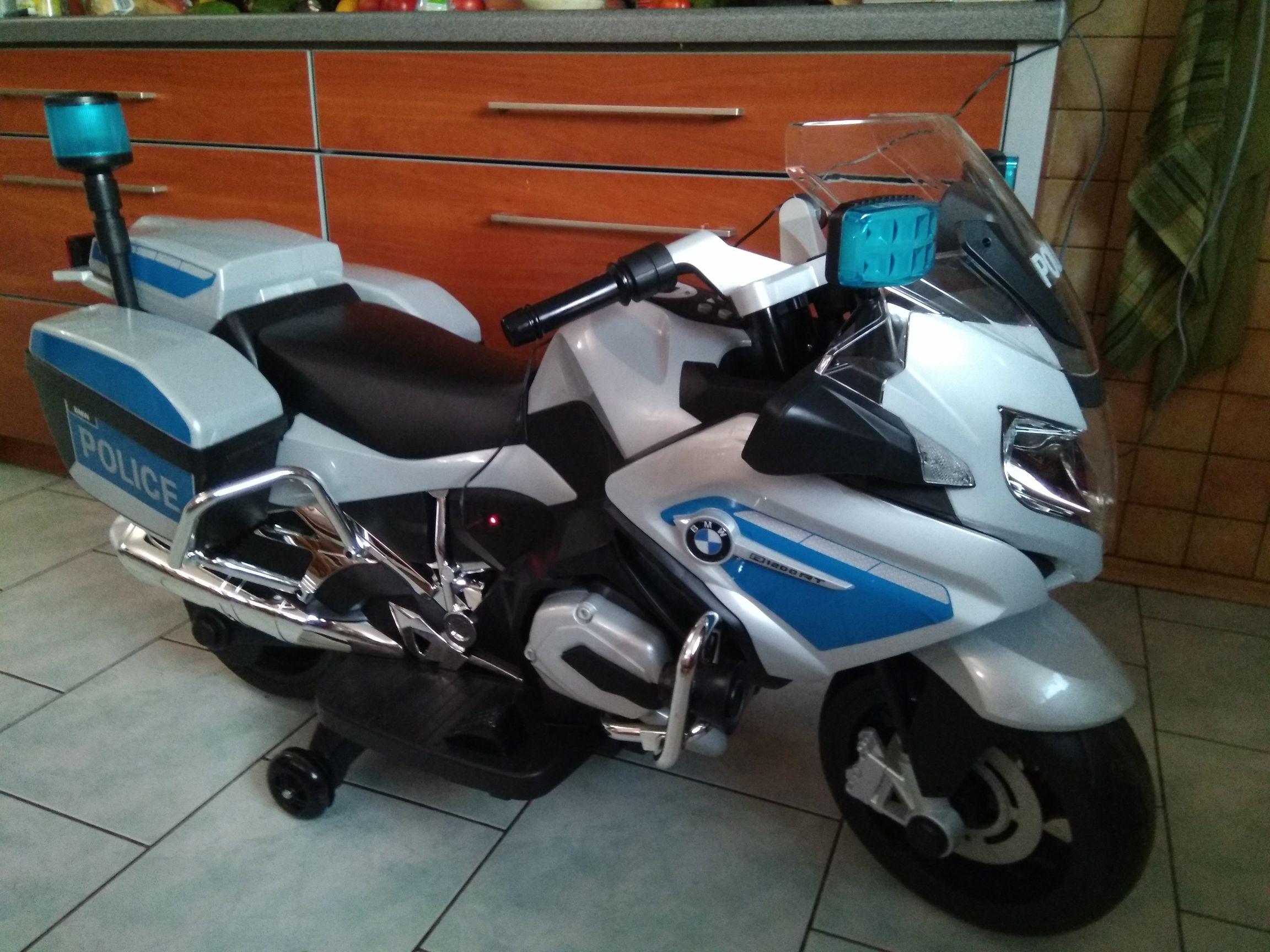 Motor dziecięcy BMW Police