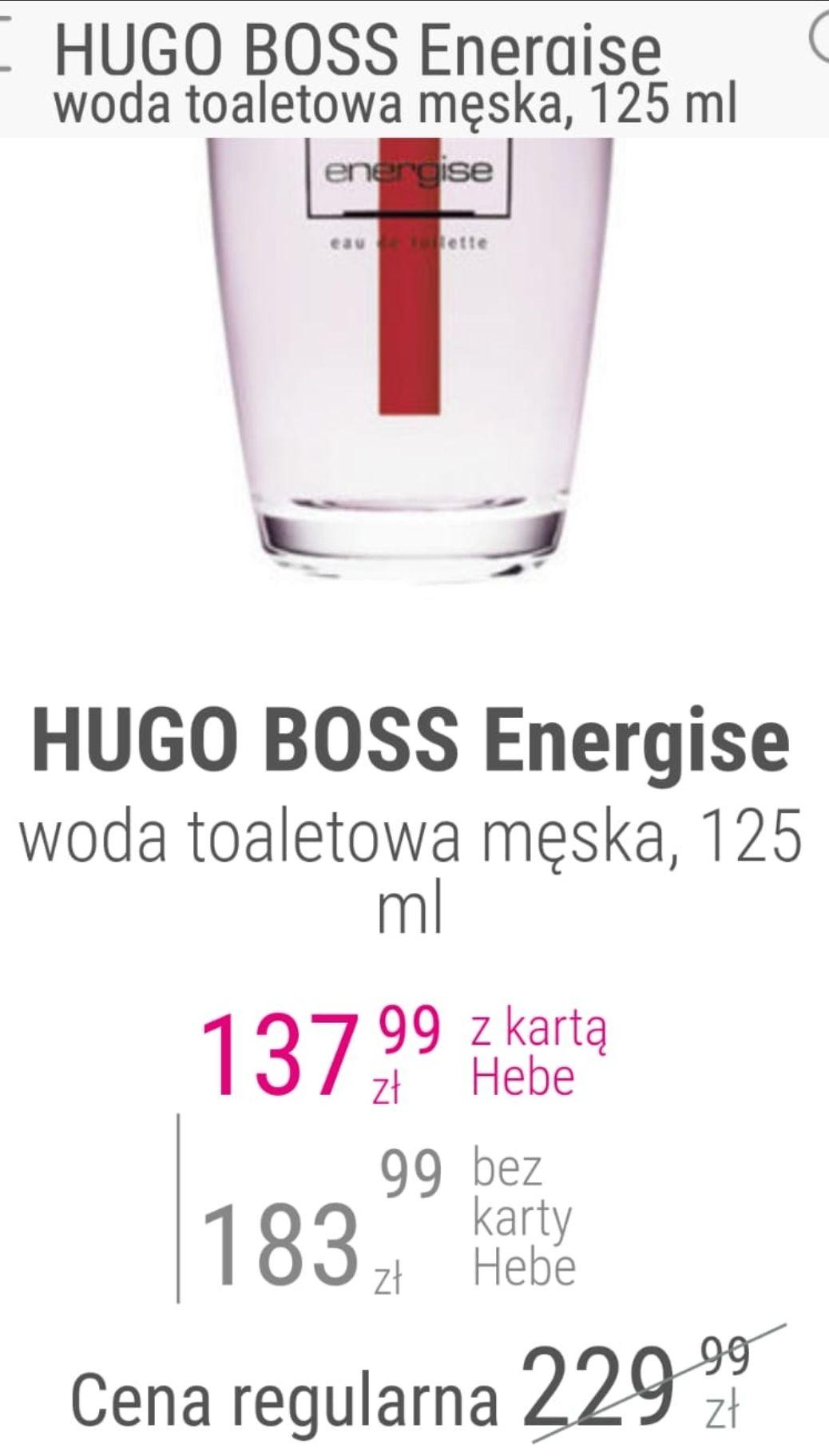 Hugo boss Energise 125 ml - Hebe