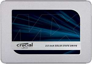 Dysk SSD Crucial MX500 1000GB za ~751,50zł  (560/510MB/s) @ Amazon (ES)