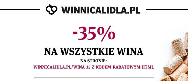 Winnica Lidla: -35% na wina z okazji