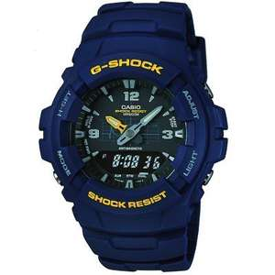 Zegarek Casio G-SHOCK ANTIMAGNETIC G-100-2BVMUR