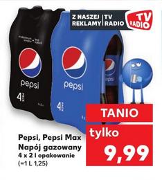 Pepsi i Pepsi Max 4x 2L (1L = 1,25zł) @ Kaufland