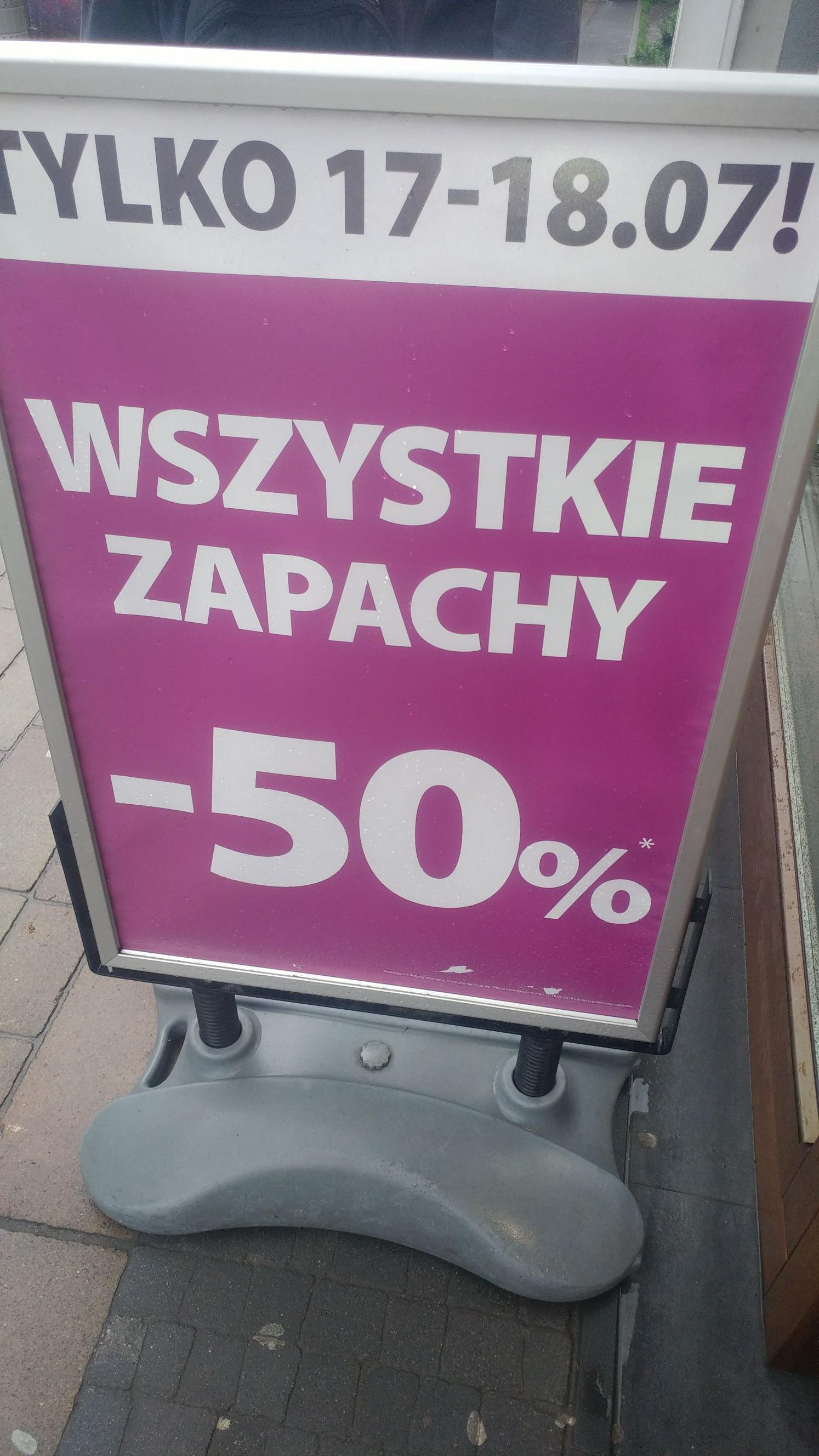 Perfumy i inne zapachy za pol ceny w Hebe Kraków kolo Galerii Krakowskiej
