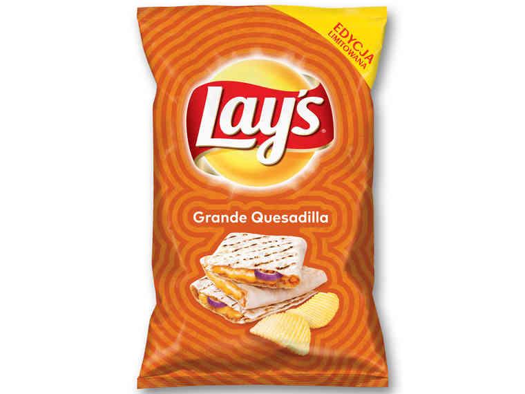 Chipsy Lay's nowe smaki 140g w Lidlu