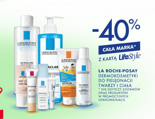40% rabatu na markę La Roche-Posay @ Super-Pharm