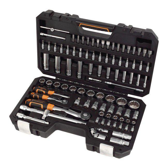 MAGNUSSON - zestaw narzędziowy 94 szt. z dożywotnią gwarancją, Karcher K5, Stanley @Castorama