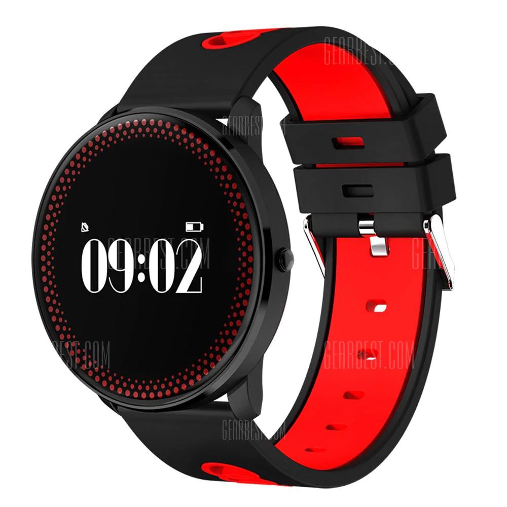 Opaska fitness/smartband CF007 (pulsometr, monitor snu, powiadomienia, pomiar ciśnienia) @ Gearbest