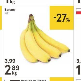 Banany w Tesco 2,89