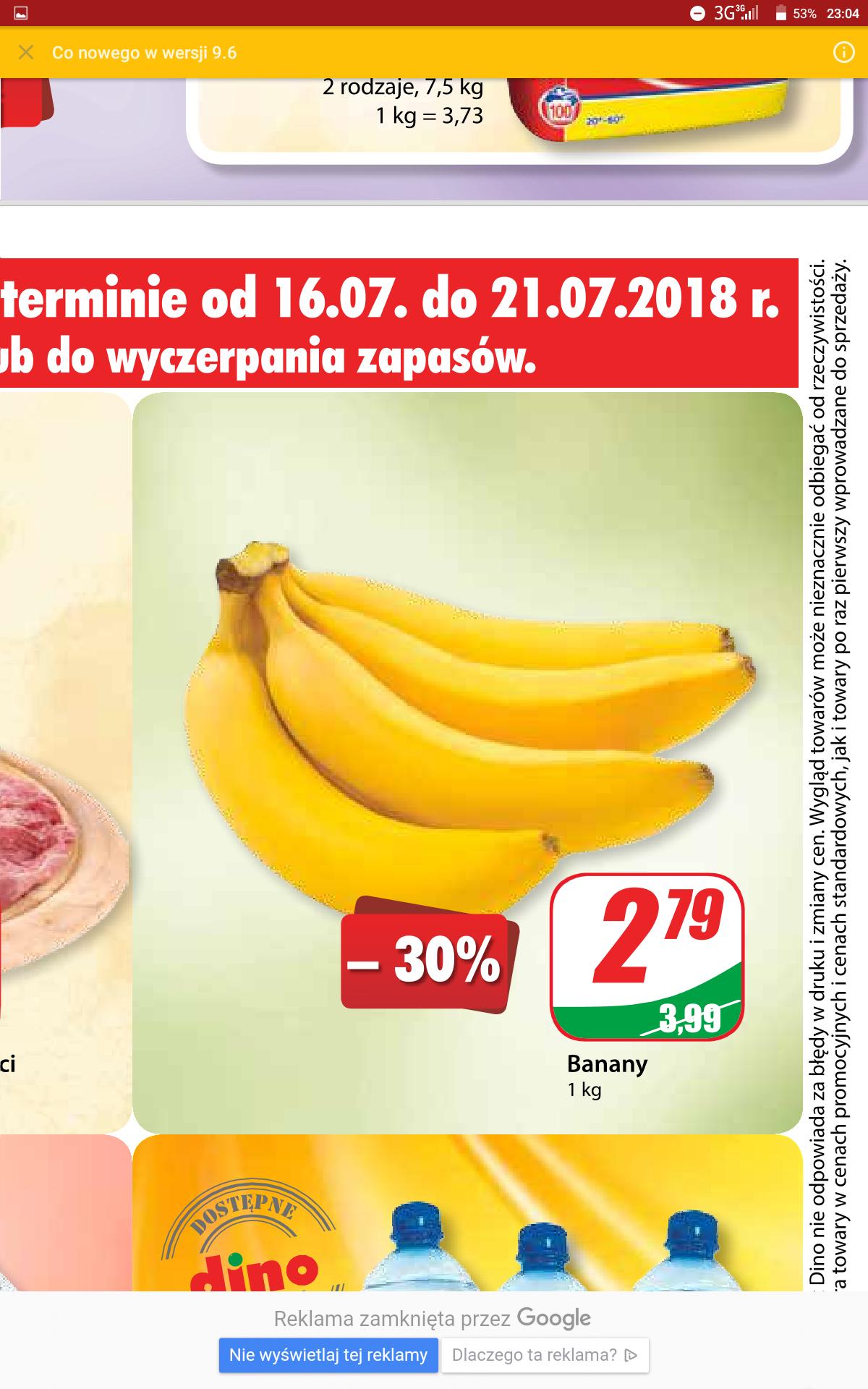 Banany w Dino