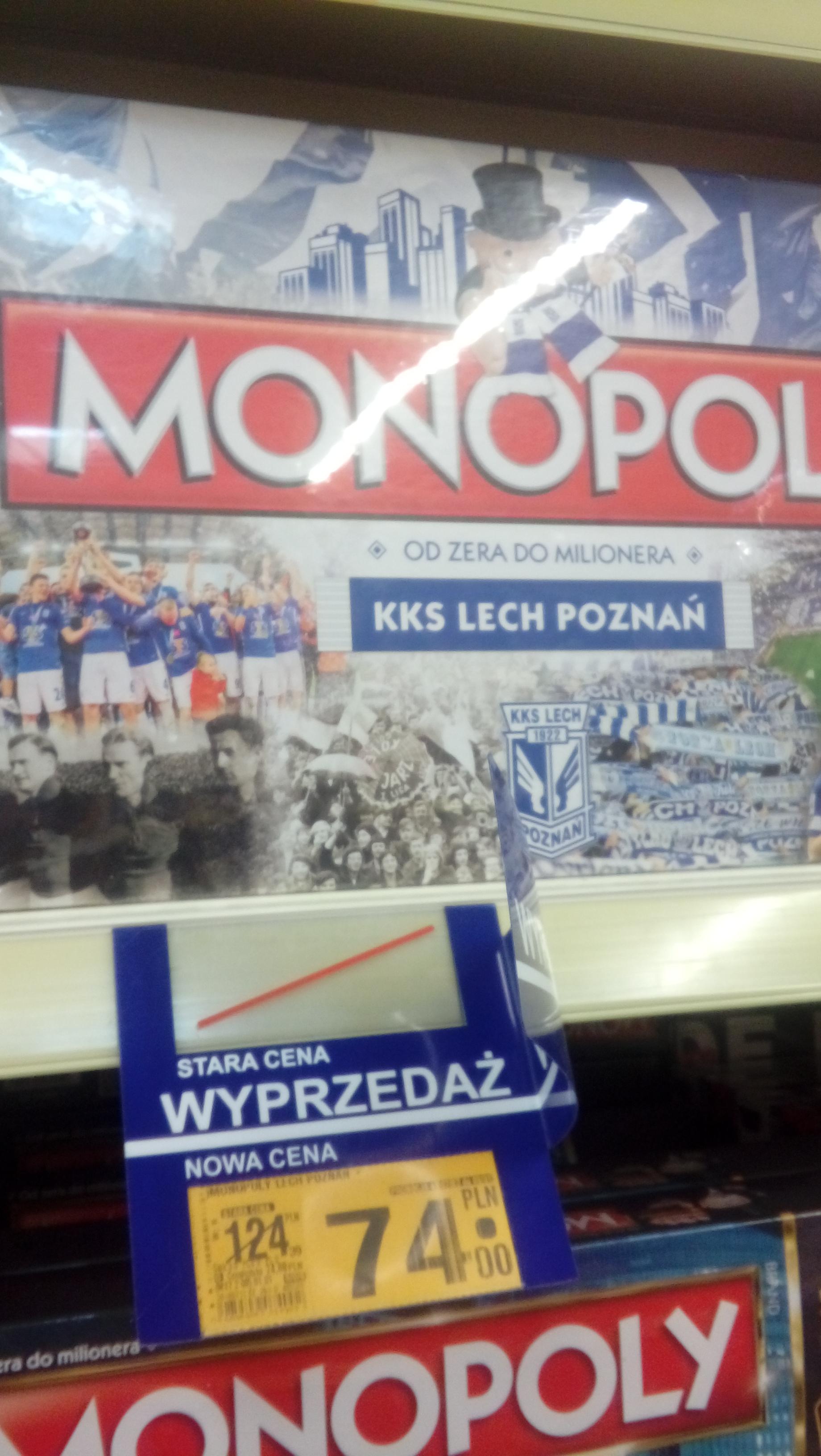 Monopoly i inne gry planoszowe w Auchan