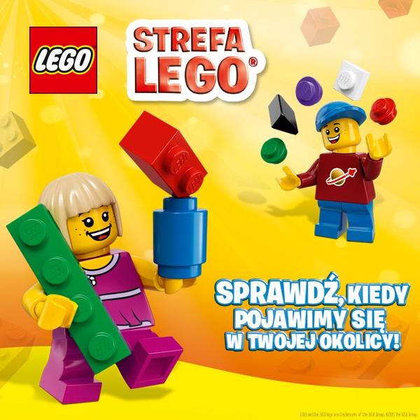 Strefa zabaw klockami LEGO rusza w trasę po największych miastach Polsce @ LEGO
