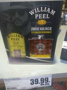 Whisky William Peel 0,7l + piersiówka w Intermarche