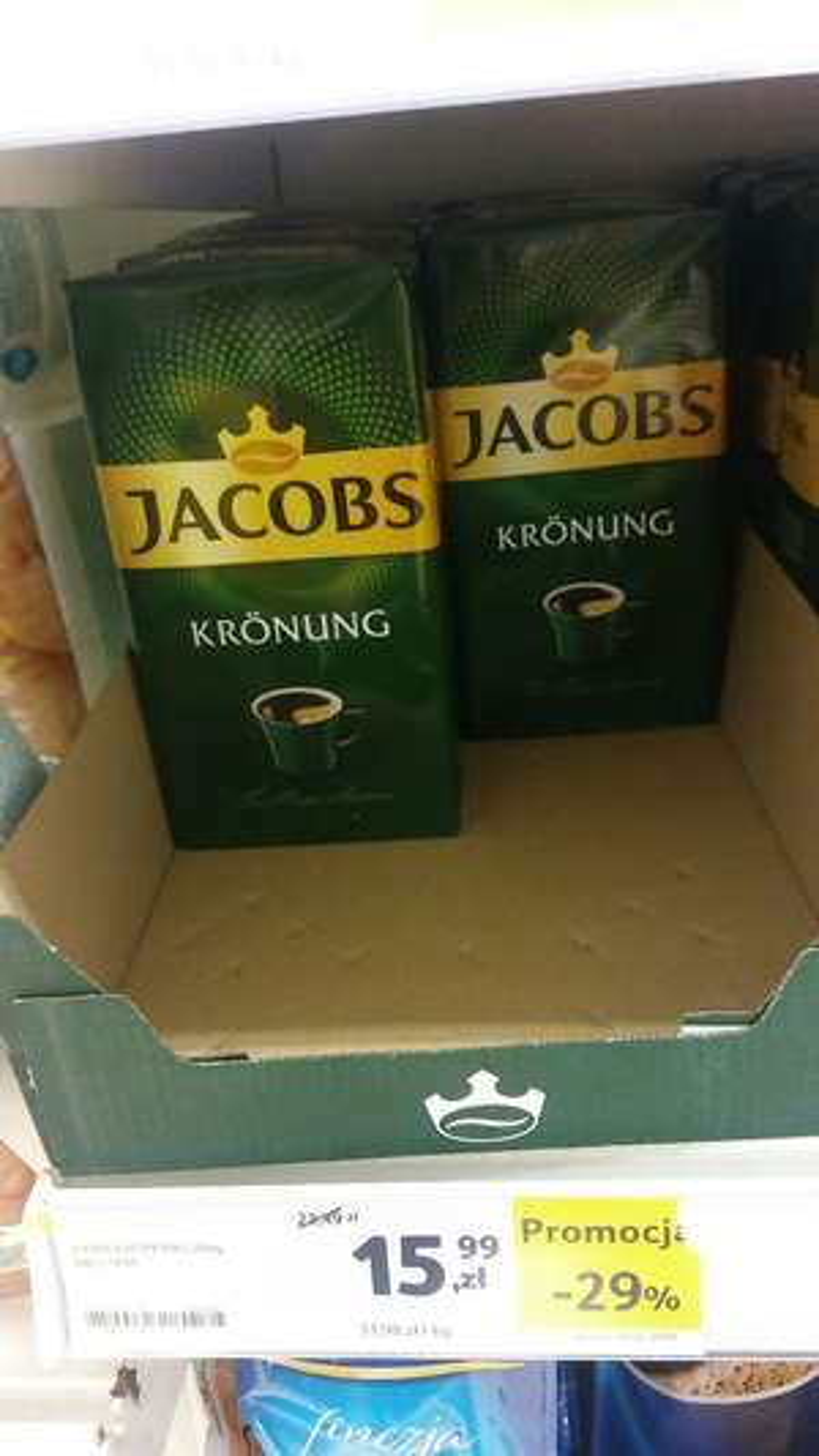 Kawa Jacobs Kronung Tesco