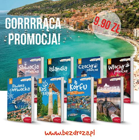 Travelbooki od Bezdroży za 9.90 PLN