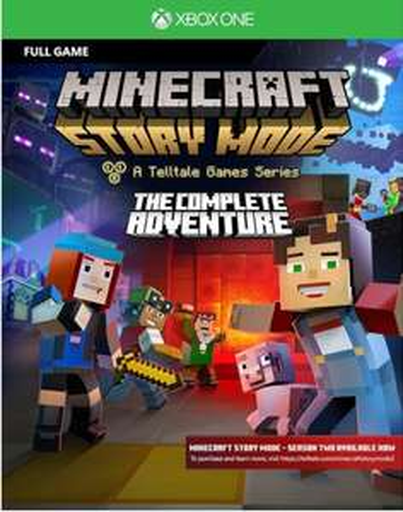 Minecraft Story Mode Complete Adventure Xbox One za14zł CdKeys