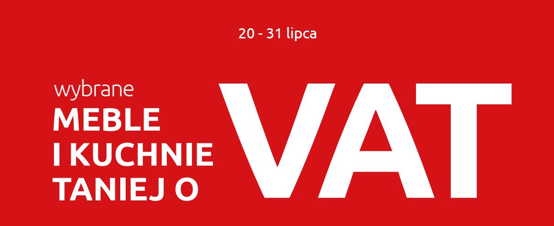 Wybrane meble i kuchnie taniej o VAT @ Black Red White