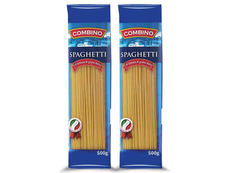 Makaron spaghetti (500g) 2 w cenie 1 #Lidl (1kg = 2,18zl)