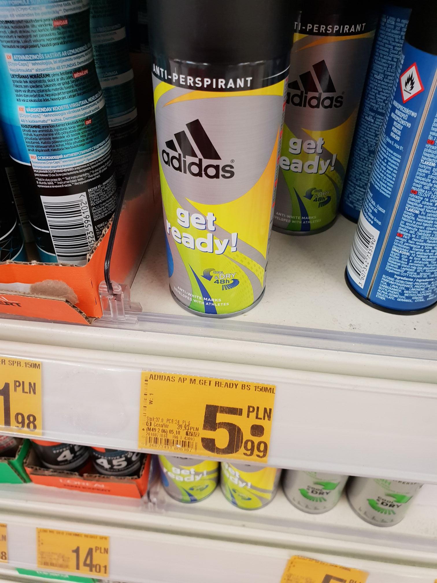 Auchan Wrocław  - Adidas anitperspirant