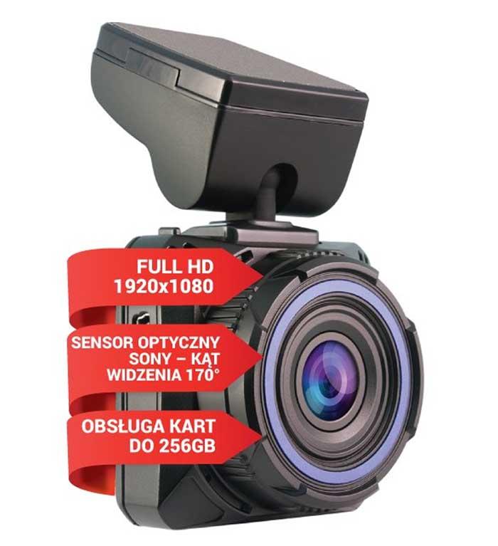 Wideorejestrator Navitel R600 + voucher z 12-miesięcznym kluczem licencyjnym, Navitel Mapa Europy