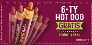 6-ty hot-dog gratis @ Lotos