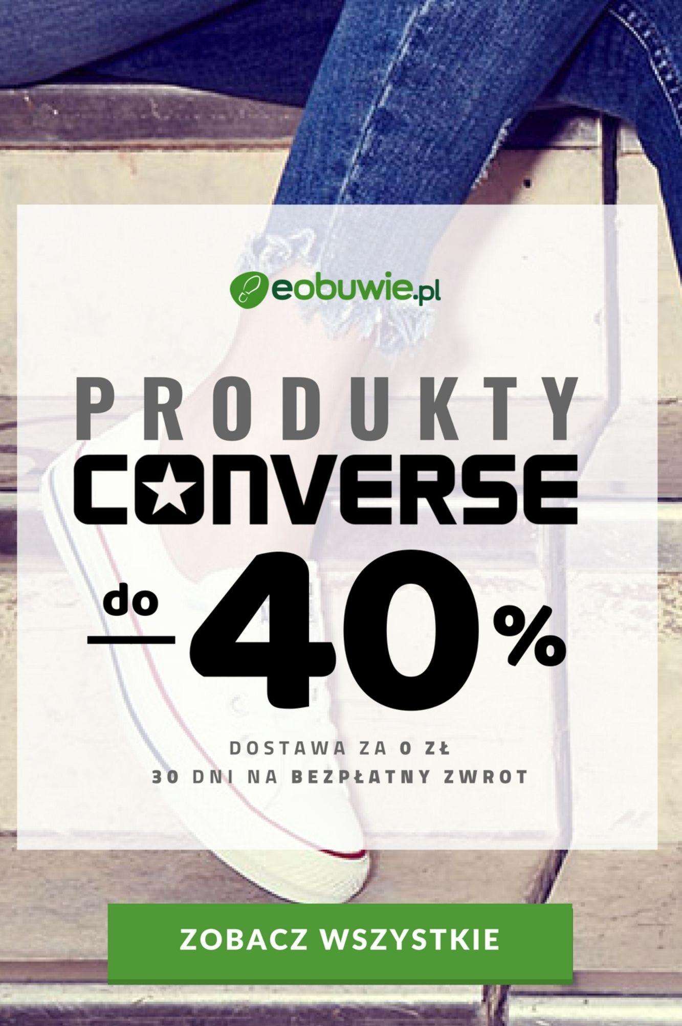 Produkty converse do - 40%