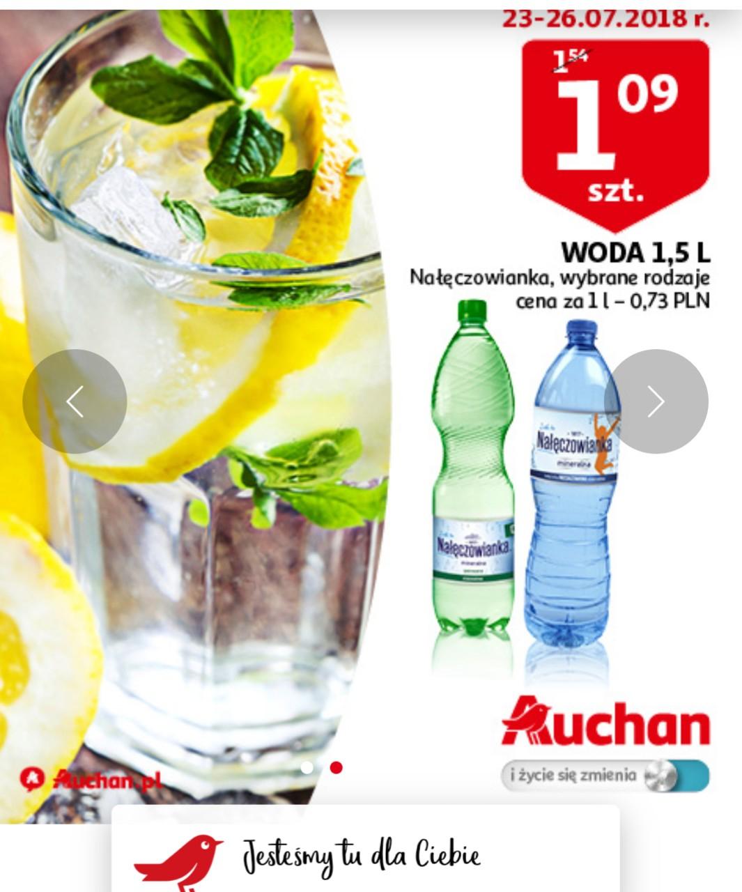 Tania Nałęczowianka 1,5l @ Auchan