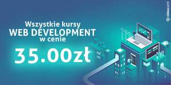 Web Development. Kursy video po 35 zł @ videopoint