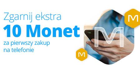 Allegro - 10 Monet za pierwszy zakup przez aplikację