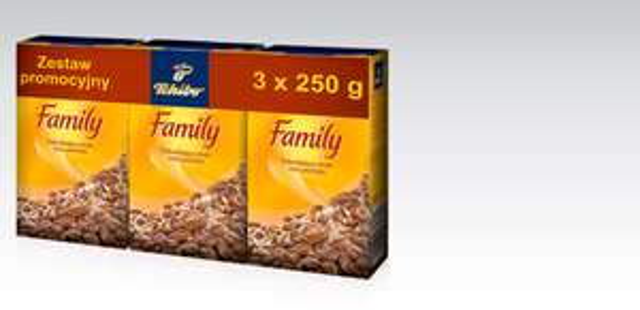 Kawa Tchibo Family 750g za 13,99zł @ Biedronka