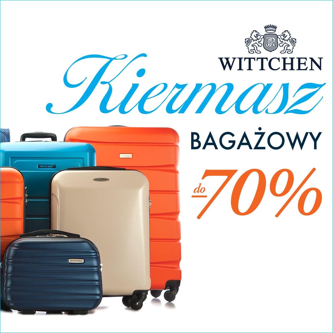 Kiermasz bagażowy WITTCHEN do -70%