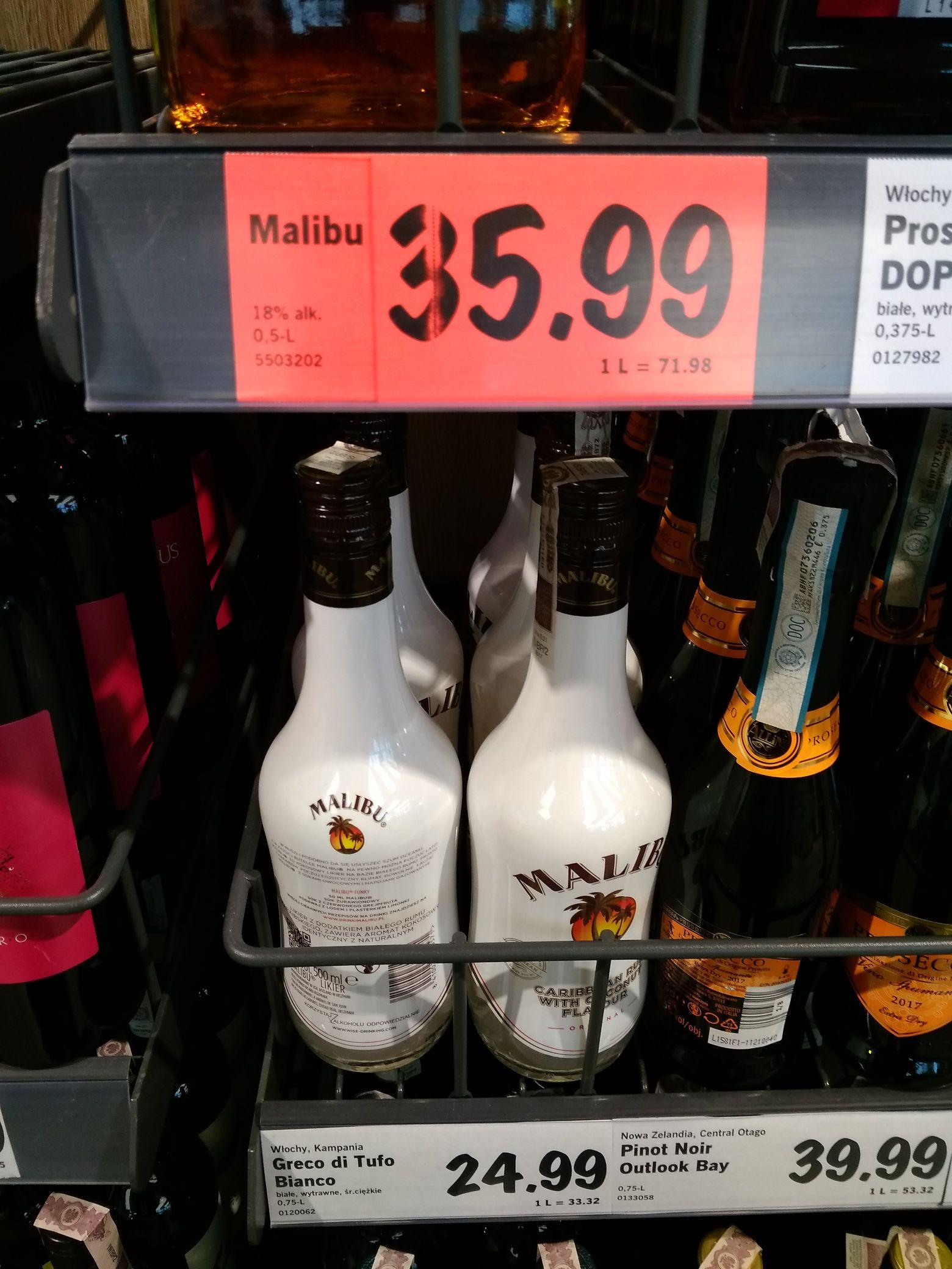Malibu 0,5l Lidl