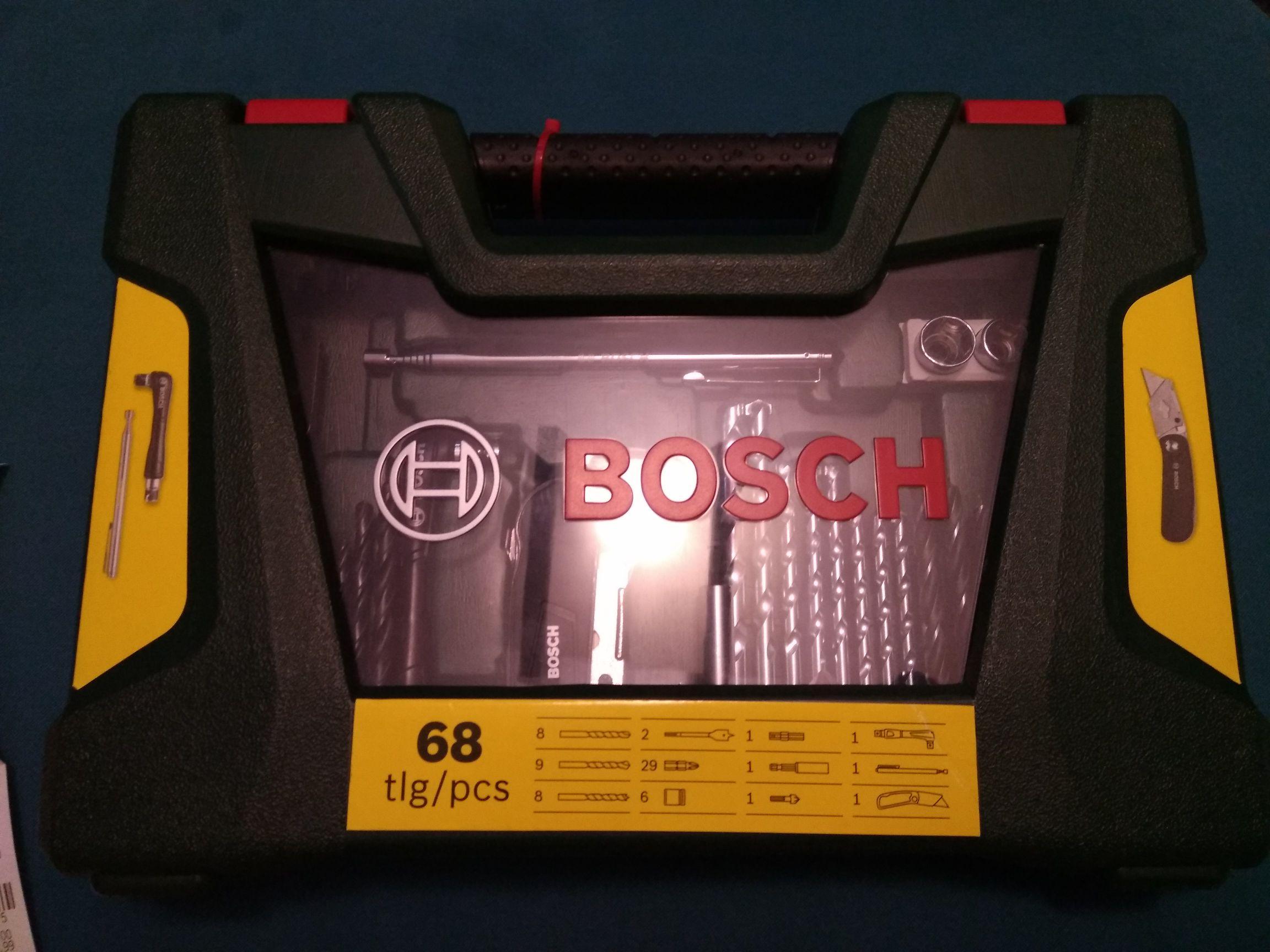 Bosch zestawy wierteł, bitów, nasadek, narzędzi
