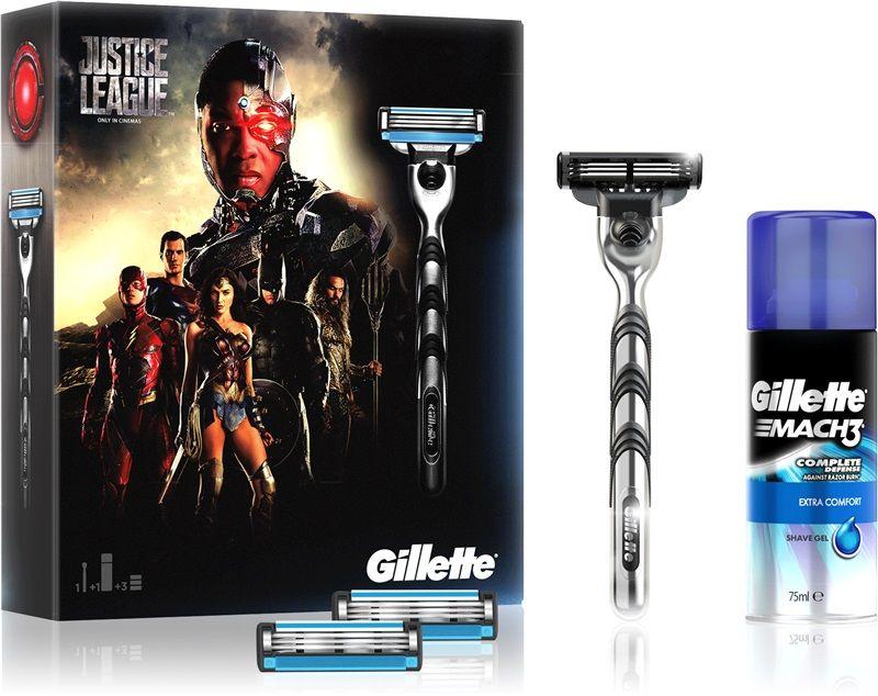 Zestaw Gillette Mach 3 Liga sprawiedliwości