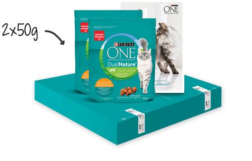 Darmowy pakiet PURINA ONE® DualNature™ za rejestrację na stronie.