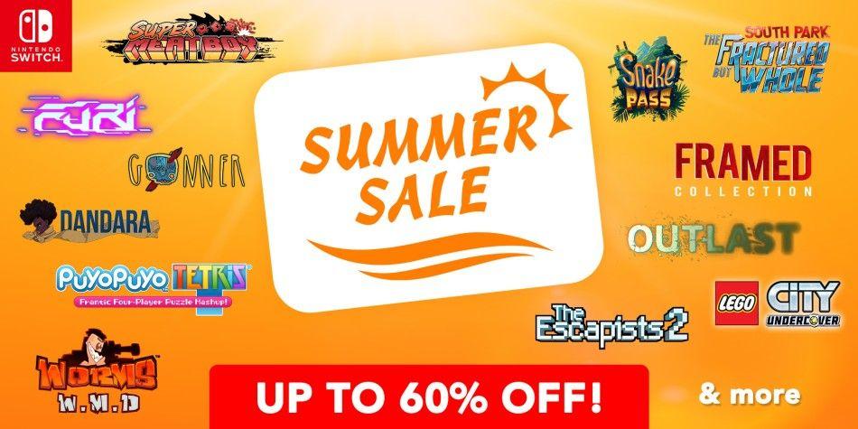 Summer sale w Nintendo eshopie!