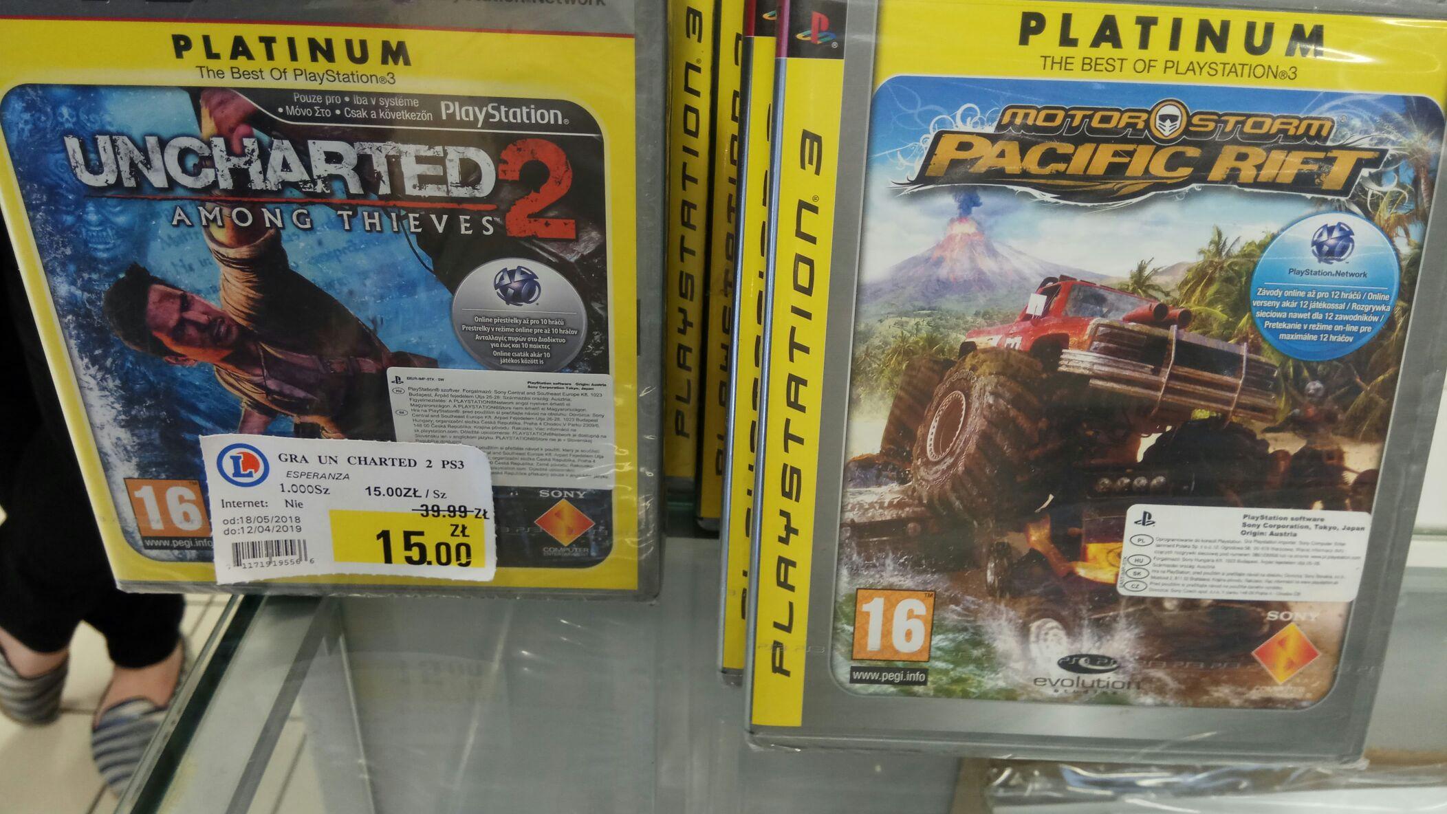 Uncharted 2 / Motorstorm PS3