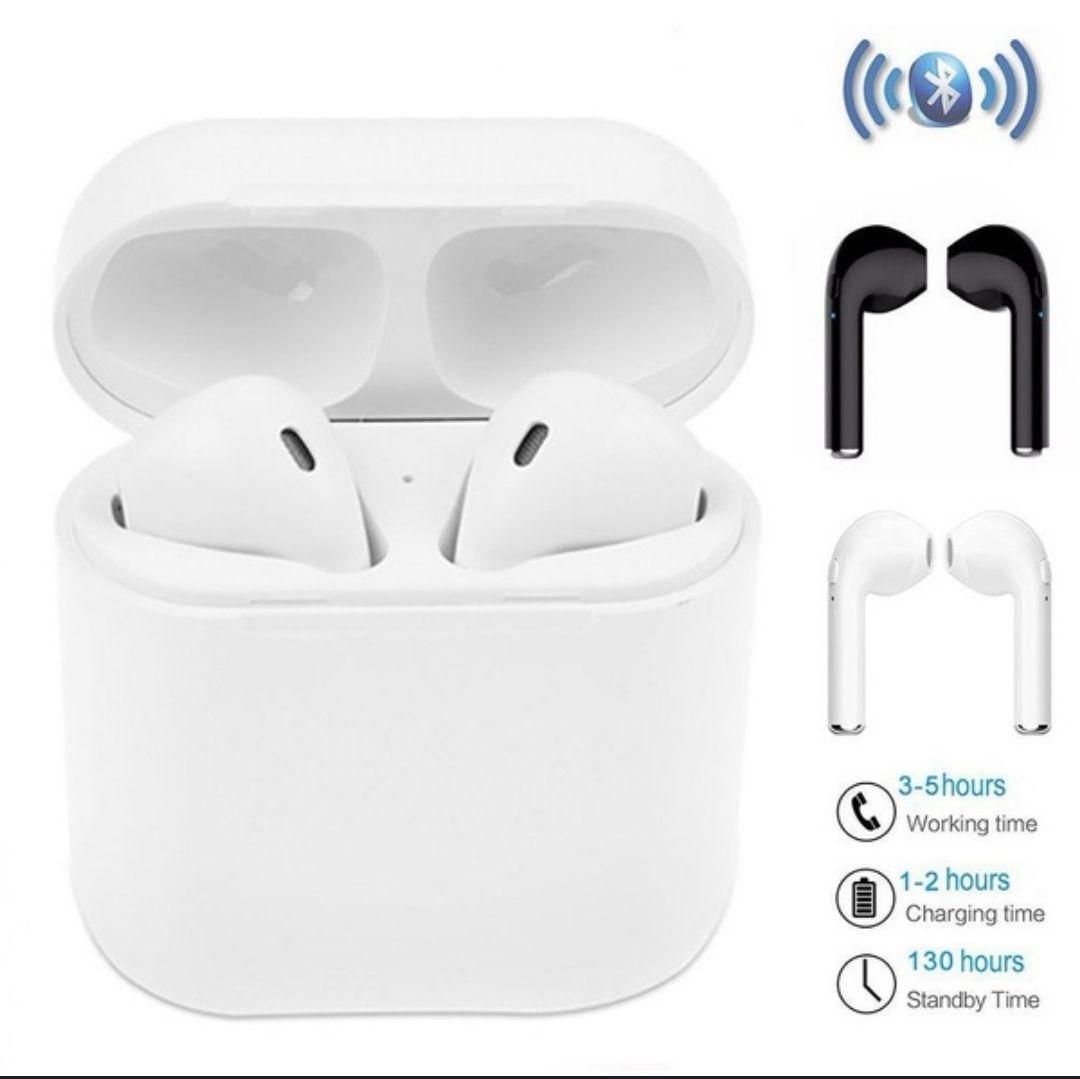 Mini Słuchawki bluetooth i7 ala iphone tws-i7 ze stacją ładującą/powerbankiem