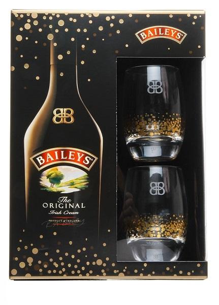 Likier Baileys 0,7 + 2 szklanki. Kaufland