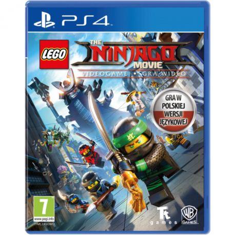 PS4 LEGO NINJAGO MOVIE VIDEOGAME DUBBING PL!