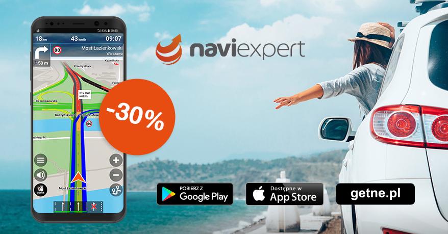NaviExpert - Wakacyjna promocja na roczne abonamenty!