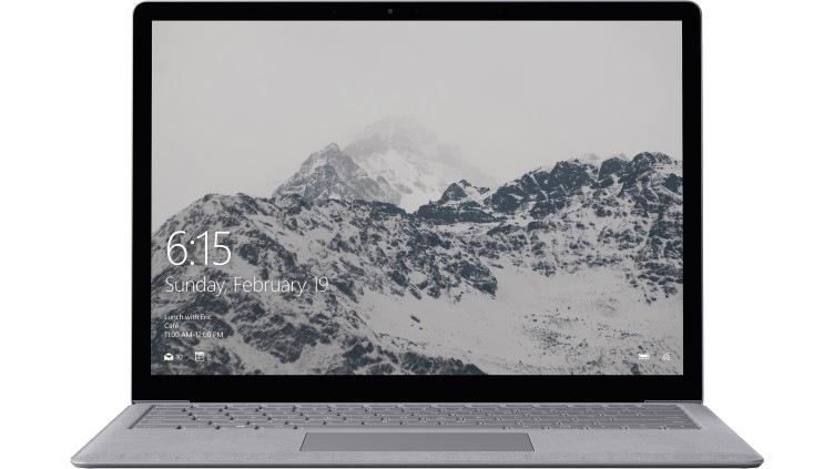Surface Laptop - 128 GB / Intel m3 / 4GB RAM - Platinum