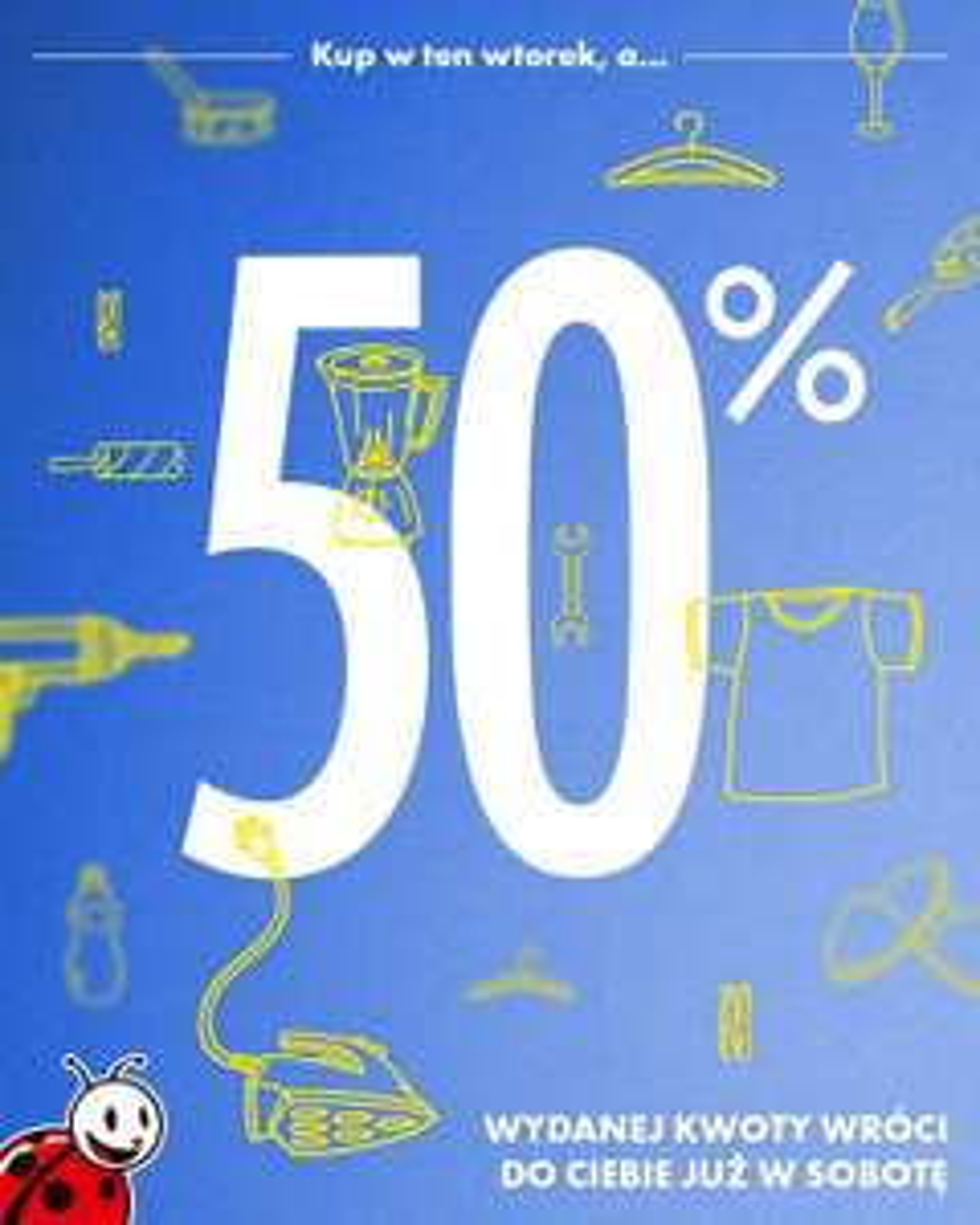 Biedronka kolejny raz daje Vouchery do 50% wartości wybranych art. przemysłowych @biedronka