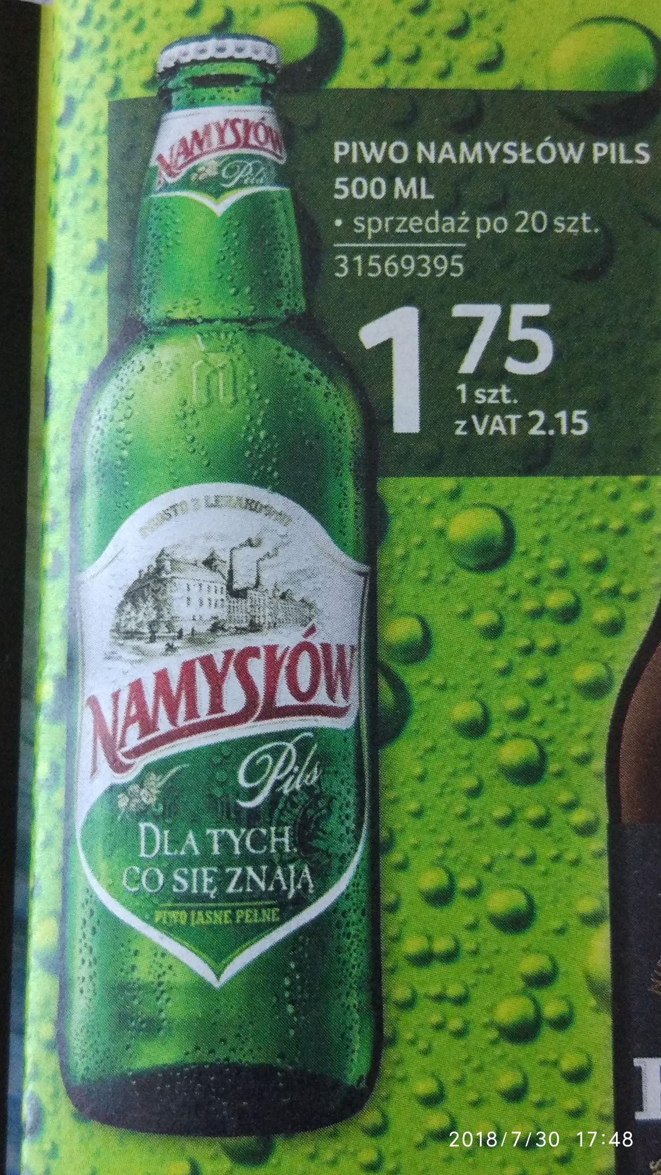 Piwo Namysłów - Selgros