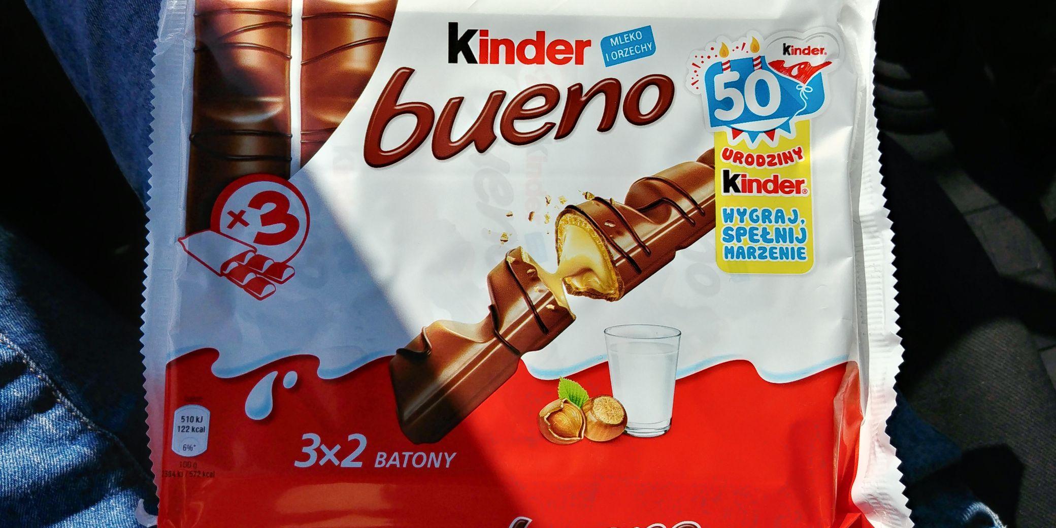 Kinder bueno x3 w Lidlu -45%