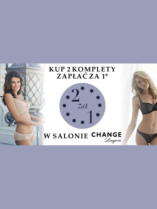 2 komplety bielizny w cenie 1 @ Change Lingerie