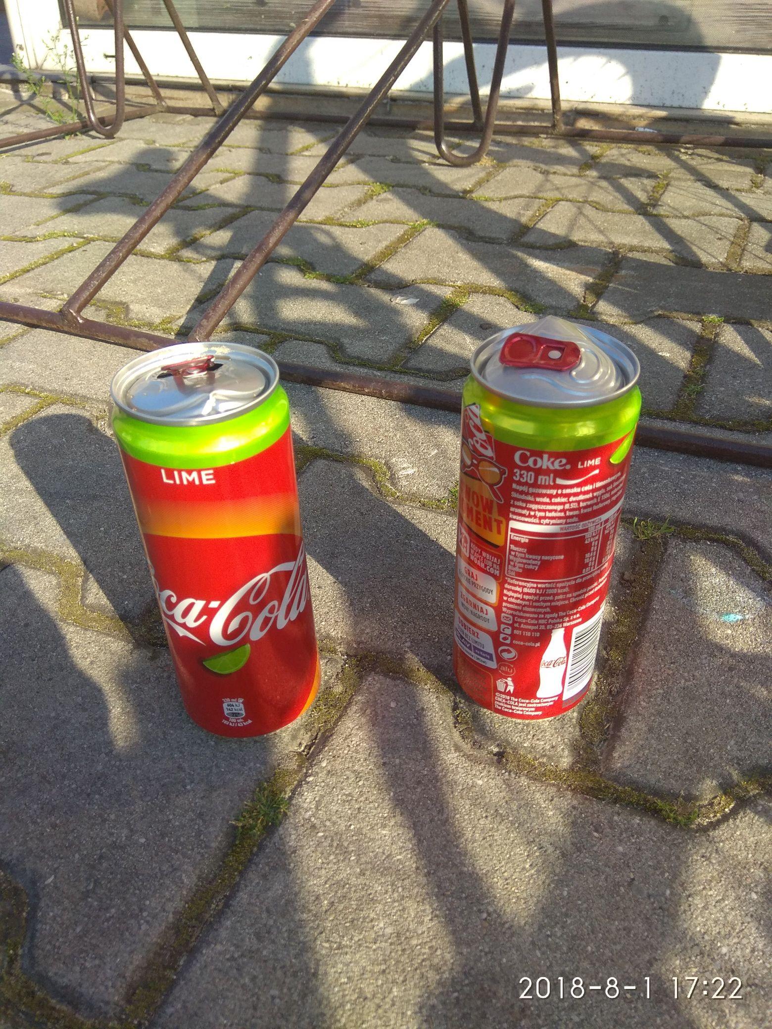 Promocja na Górkach (śląskie ) - 2 puszki COCA-COLI za 2.20
