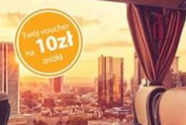 Flixbus voucher na 10zł